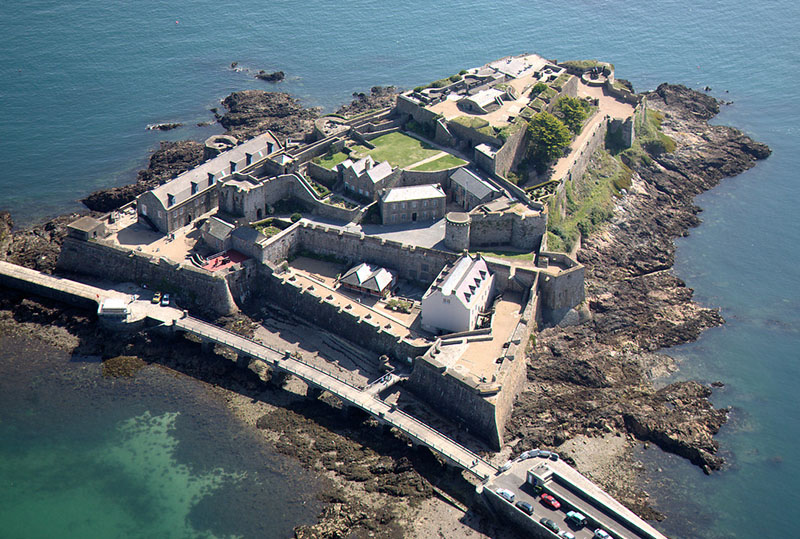 Castle Cornet from the Air